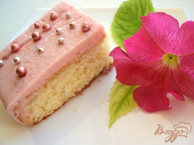 Фото приготовление рецепта: Пирожное «Дюймовочка» шаг №8