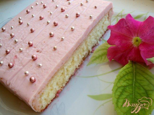 Фото приготовление рецепта: Пирожное «Дюймовочка» шаг №7