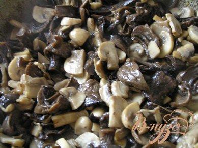 Постная грибная солянка