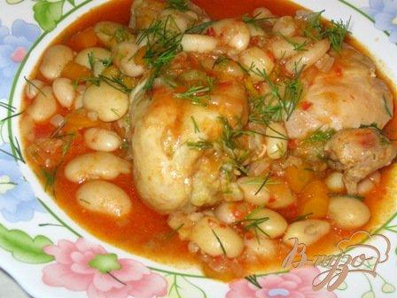 Курица в томатно чесночном соусе пошаговый рецепт с