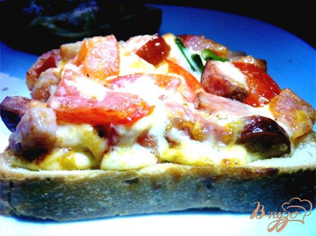 Рецепт Бутерброды пикантные