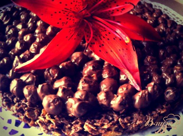 Рецепт Шоколадный хрустящий торт