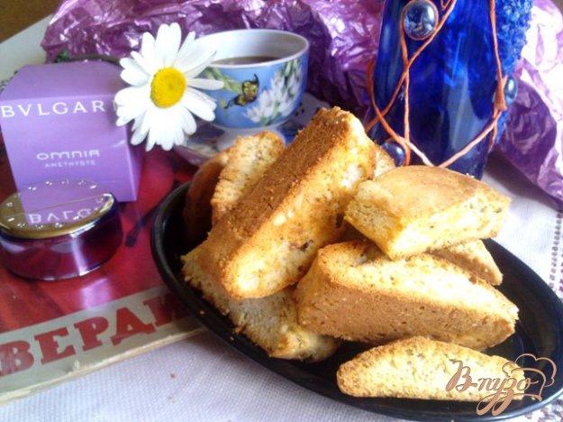 фото рецепта: Cantuccini с миндалем и фисташками