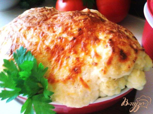 фото рецепта: Цветная капуста с соусом