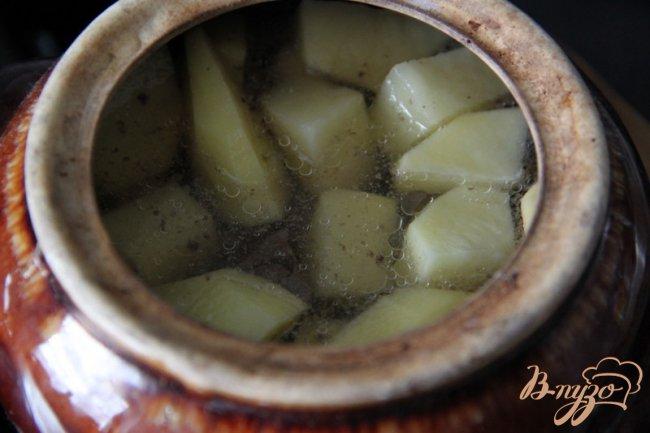 Фото приготовление рецепта: Boeuf en daube - Говядина, тушенная в вине шаг №4