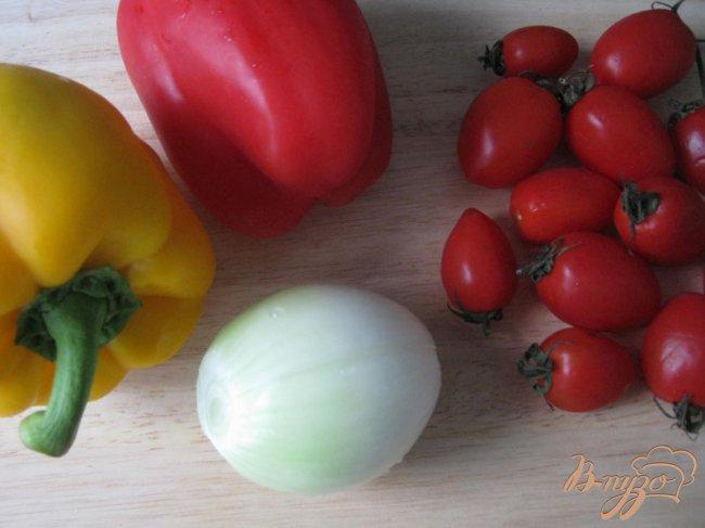 Фото приготовление рецепта: Картофельный пирог с мясом и овощами. шаг №5