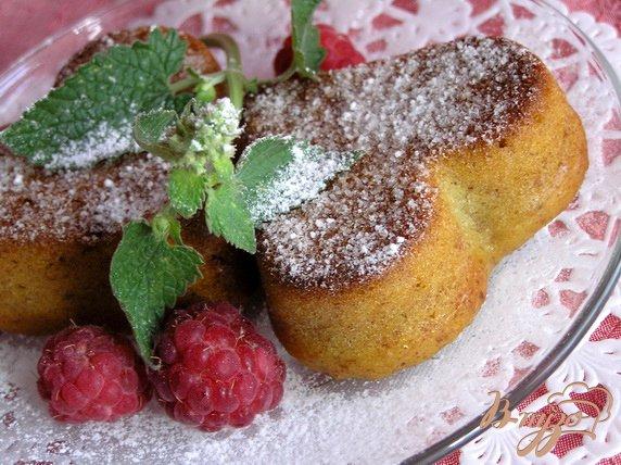 Рецепт Бананово-апельсиновые маффины с миндалем