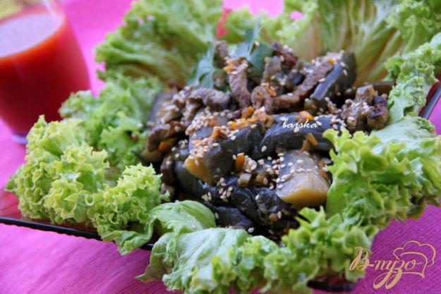 Рецепт Баклажаны с говядиной