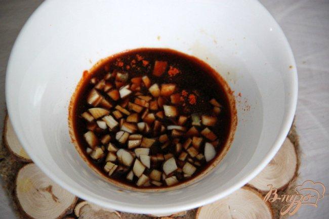 Фото приготовление рецепта: Баклажаны с говядиной шаг №5