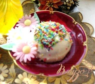 фото рецепта: Творожное желе с изюмом