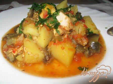 Рецепт Ароматное блюдо Чанахи
