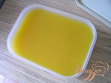 Персиковое сорбе с ванилью
