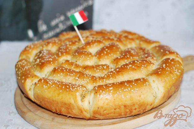 Рецепт Хлеб с пармезаном и итальянскими травами.