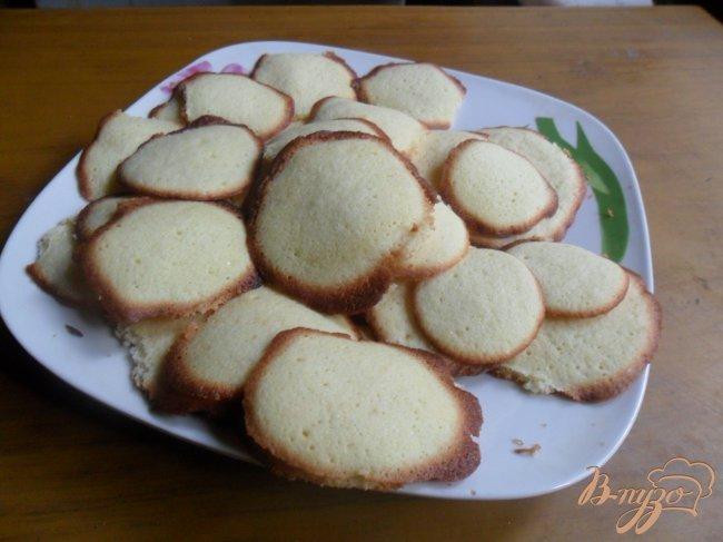 Фото приготовление рецепта: Печенье домашнее шаг №4