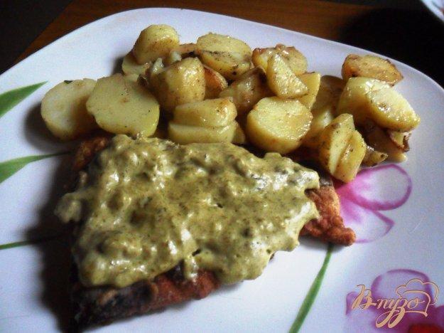 Рецепт Рыба с щавелевым соусом
