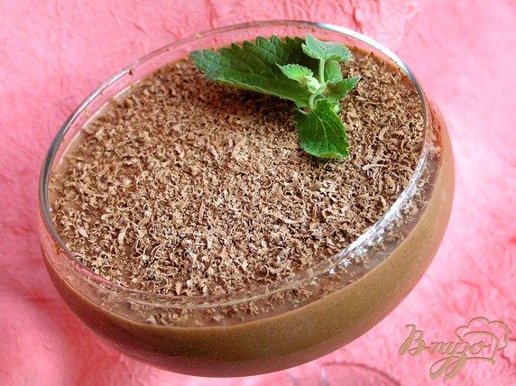 Рецепт Шоколадно-манный мусс