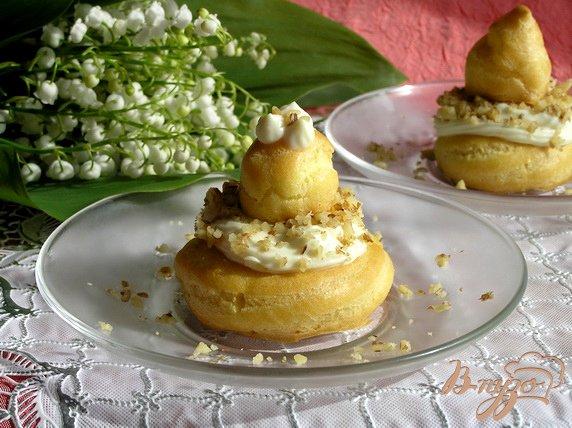 Рецепт Заварные пирожные с секретом ;)