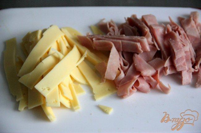 Фото приготовление рецепта: Шеф-салат шаг №1