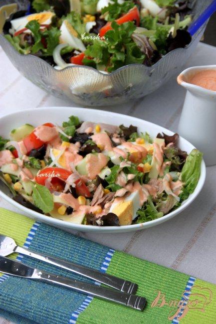 Фото приготовление рецепта: Шеф-салат шаг №6