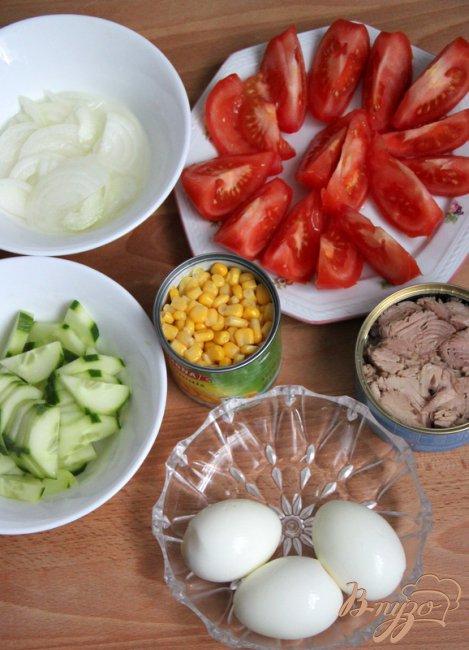 Фото приготовление рецепта: Шеф-салат шаг №5