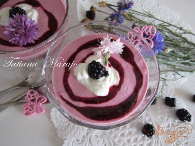Рецепт Творожно-ягодный десерт