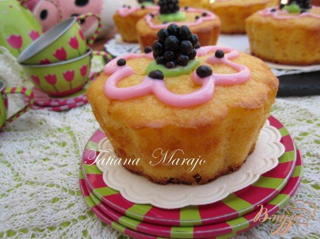 Рецепт Детские кексы .. для девочек !