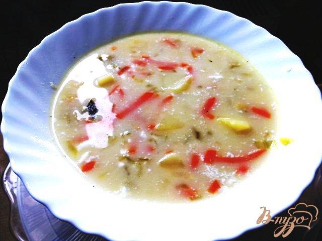 Фото приготовление рецепта: Огуречный суп по-польски шаг №6