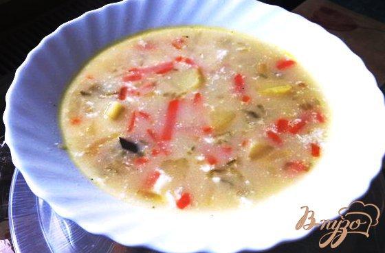 фото рецепта: Огуречный суп по-польски