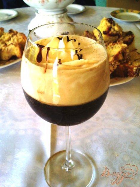 Рецепт Ароматный кофе гляссе