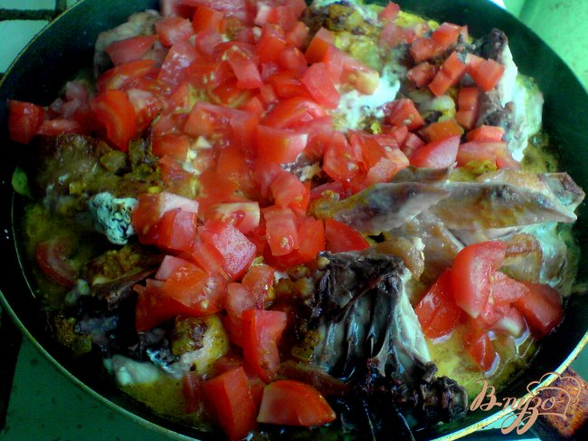 Фото приготовление рецепта: Курица в соусе карри шаг №6