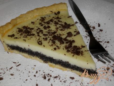 Рецепт Маковый пирог со сметанной заливкой