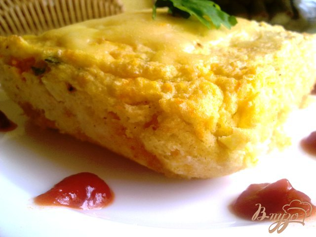 Фото приготовление рецепта: Суфле из овощей шаг №10
