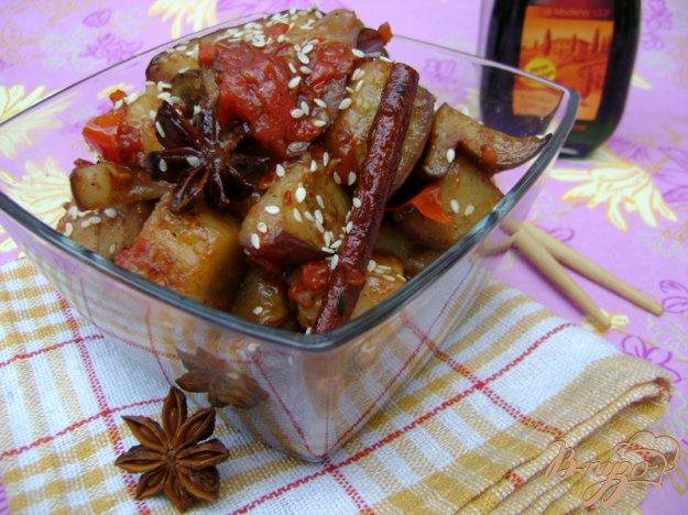 Рецепт Баклажаны в восточном стиле
