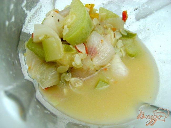 Фото приготовление рецепта: Кабачковый суп-пюре шаг №3