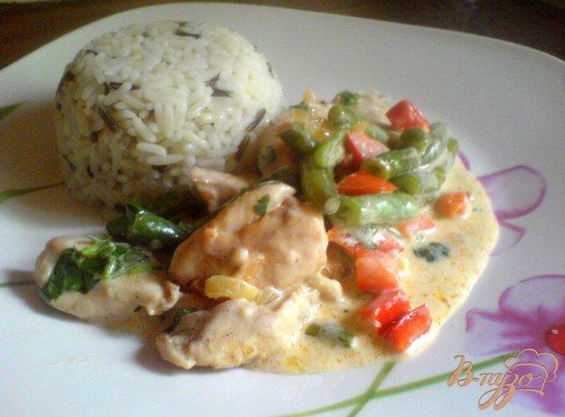Рецепт Ароматное куриное филе с чесноком и кинзой