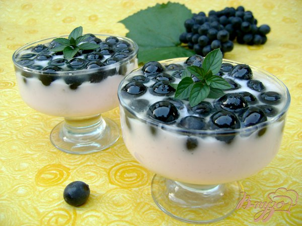 Рецепт Йогуртовый десерт «Волшебные шарики»