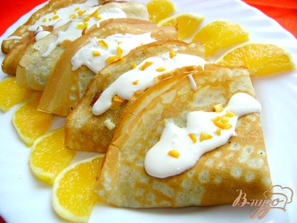 Рецепт Апельсиновые блины