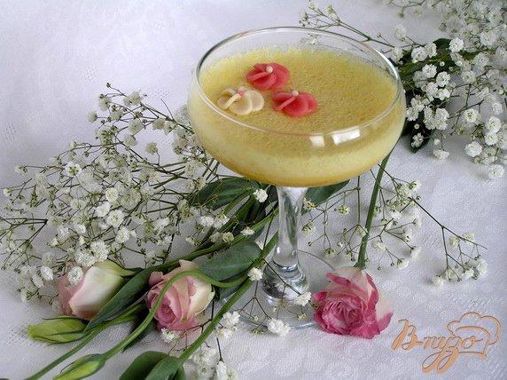 """Рецепт Мусс """"Апельсин и манго"""""""