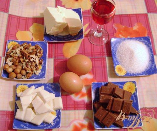 Десерт «Шоколадный бархат»