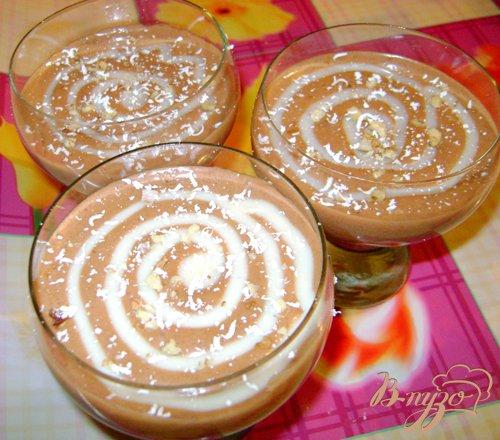 Рецепт Десерт «Шоколадный бархат»