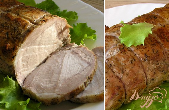 Рецепт Cочная свинина с тимьяном в белом вине