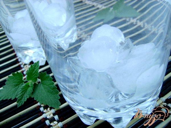 Фото приготовление рецепта: Охлаждающий напиток с мятой и лимоном шаг №3