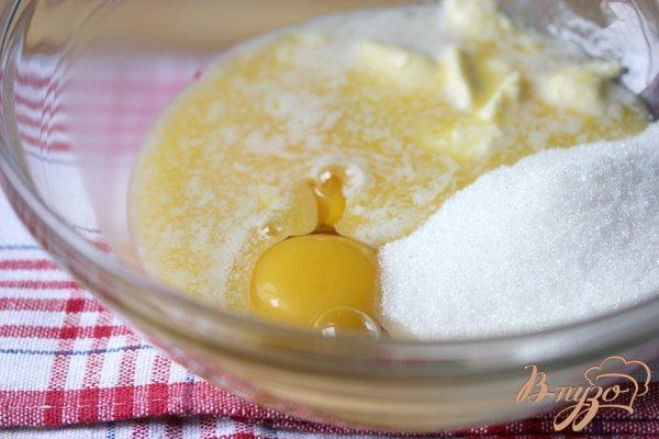 Фото приготовление рецепта: Berry muffins (Маффины с ягодами) шаг №1