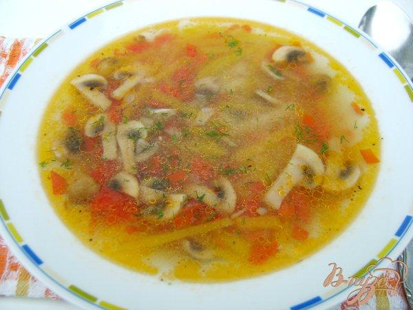 фото рецепта: Суп тыквенно-грибной