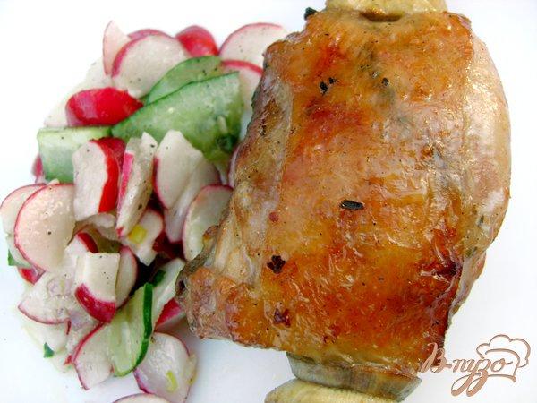 фото рецепта: Шашлык «Хмельная курочка»