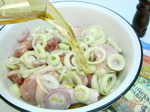 Фото приготовление рецепта: Шашлык «Хмельная курочка» шаг №3