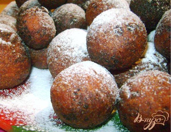 Рецепт Вкусные творожные пончики