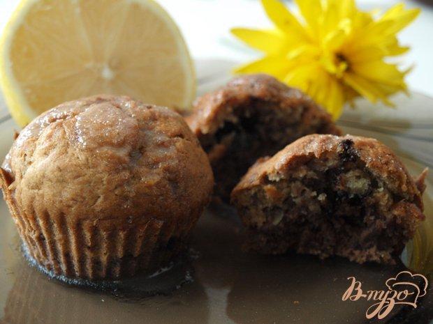 фото рецепта: Бананово-шоколадный кекс