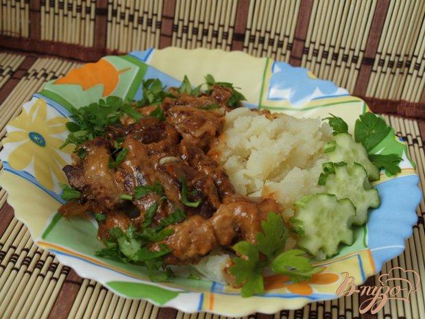 Рецепт Свинина по-строгановски