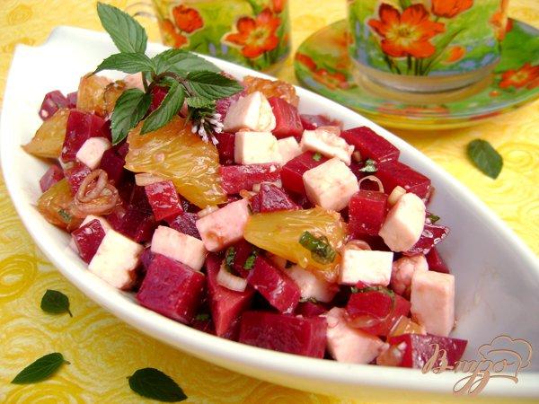 Фото приготовление рецепта: Салат «Бархатный сезон» шаг №5